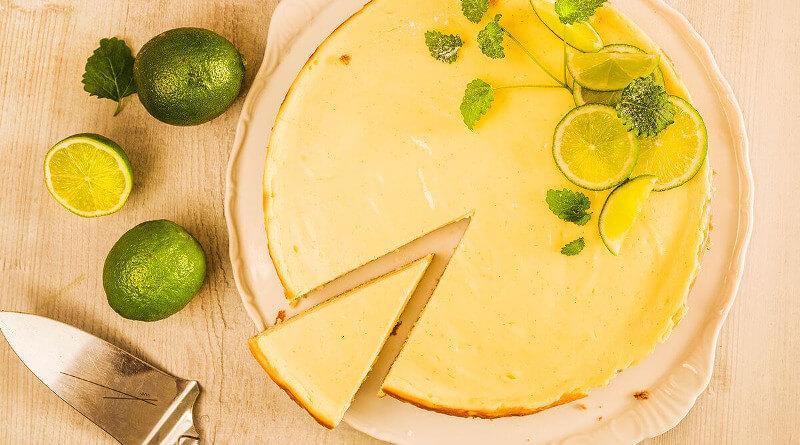 Limetkový dezert