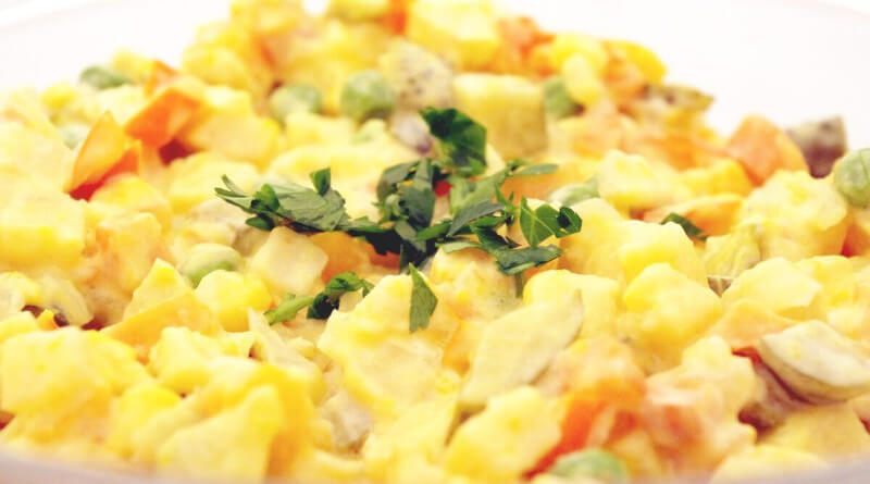 Dietní bramborový salát
