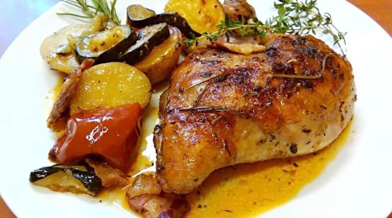 Kuře z remosky