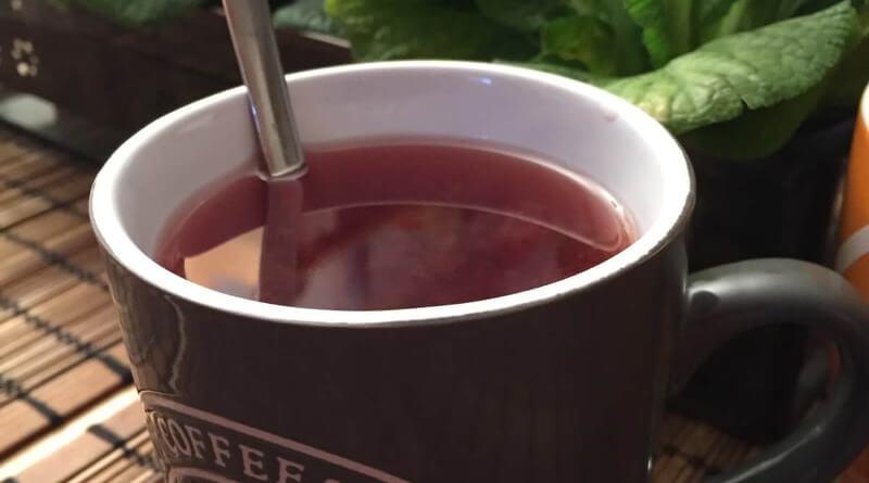 Třešňový čaj s vodkou